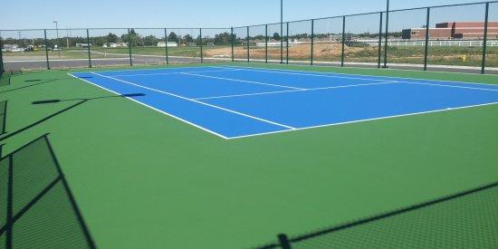 Har-Ber High School Tennis Courts